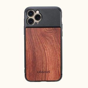Ulanzi Wooden 17mm Thread Phone Case for iPhone 11,iPhone 11 Pro, iPhone 11 Pro Max