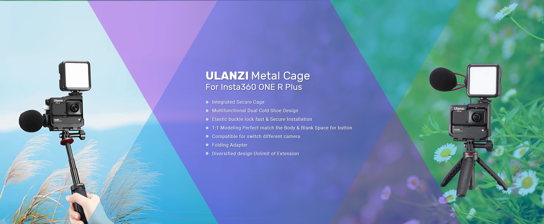 ULANZI Metal Cage For ...