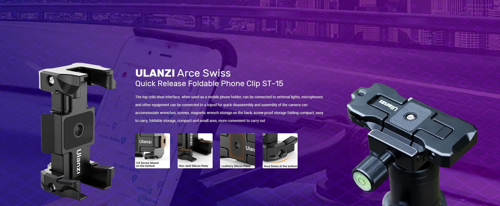 ULANZI Arce Swiss Quick ...